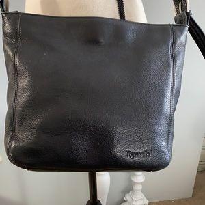 Tignanello Black Pebbled leather purse. EUC